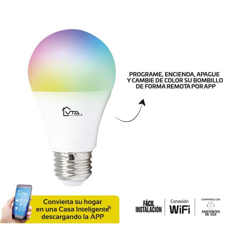 VTA - Bombillo led wifi led bulb a19 cct2700 9w vta