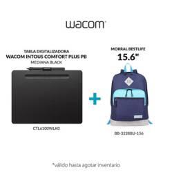 "Wacom - Tabla wacom intuos medium + morral bestlife 15.6"""