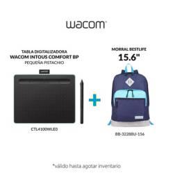 "Wacom - Tabla wacom intuos pequeña + morral bestlife 15.6"""