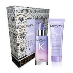 Kerastase - Set Serum Nocturno Para Rubias Cicanuit Blond Absolu,  Gratis Travel Size Cicaflash 75 ml