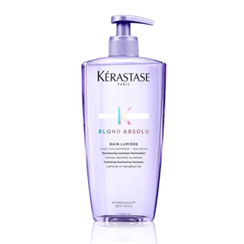 Kerastase - Shampoo Cuidado Cabello Rubio Bain Blond Absolu Lumiere 500 ml