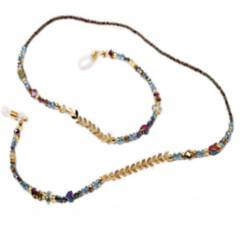 Marfil - Cordón cuelga gafas jewel wing