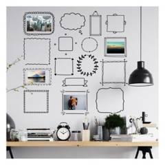 MOON LAMP - Vinilo decorativo de marcos fotográficos