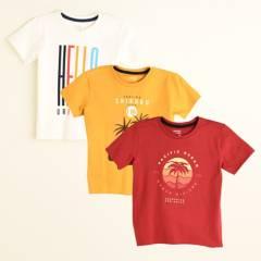 Yamp - Camiseta Niño Pack x 3 Yamp