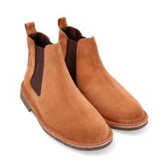 Tei Zapatos - Chelsea boots carnaza whisky