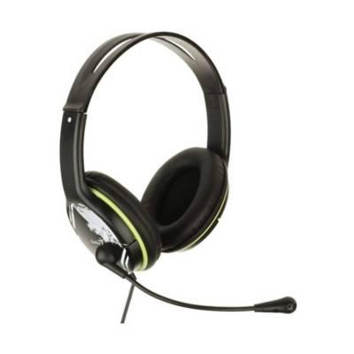 audífonos diadema genius hs-400a verde 2 plug