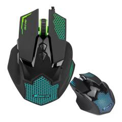 Xtrike Me - Mouse Gamer 7 Colores Pc Usb 7 Botones 3600 Dpi