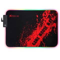 Xtrike Me - Mouse Pad Gamer Con Iluminación Y Base Antideslizante