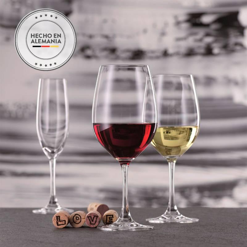 Spiegelau - Copa Cristal Bordeaux x 12