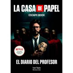 Editorial Planeta - La Casa De Papel Escape Book - Tapia