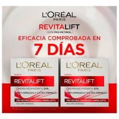 Loreal Dermo Expertise - Set de Tratamientos Faciales L'Oréal Revitalift Clásica Crema Día x2
