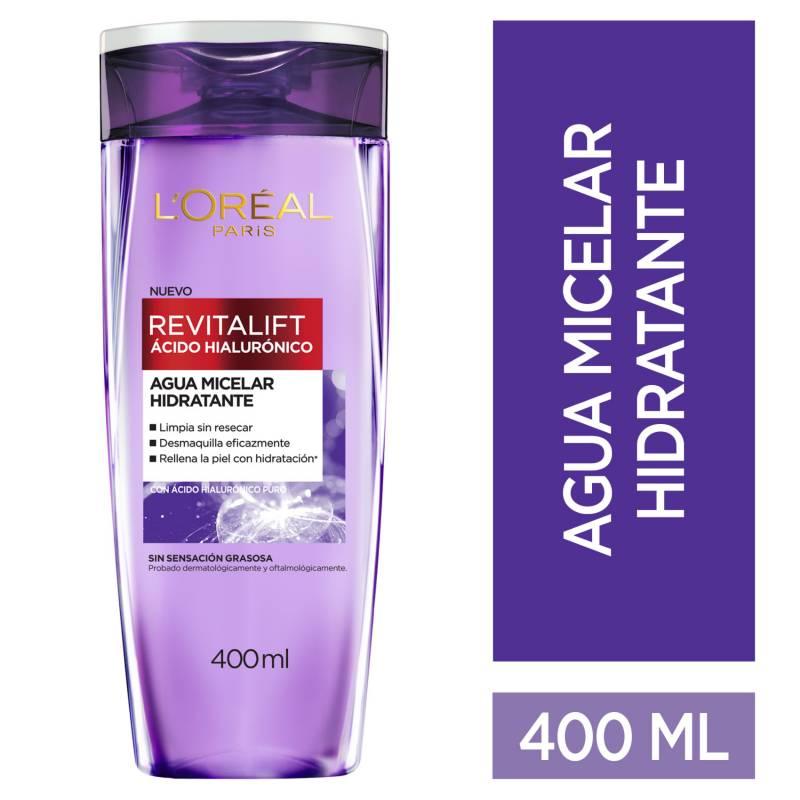 Loreal Dermo Expertise - Agua Micelar Ácido Hialurónico 400 ml Loreal Dermo Expertise