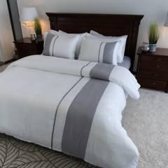 Amare - Duvet para cama doble blanco - forro para plumón