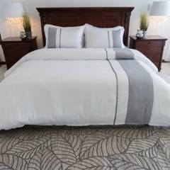 Amare - Duvet para cama semidoble blanco - forro para plum
