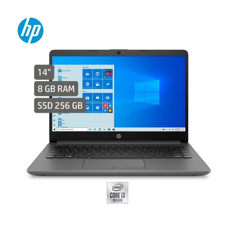 HP - Portátil HP Laptop 14 pulgadas Intel Core i3 8GB 256GB