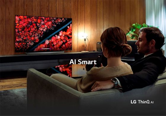LG AI TV con inteligencia Artificial OLED