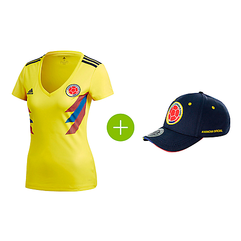 Adidas Camiseta Fútbol Selección Colombia Local Mujer - Falabella.com b6a455abbc8