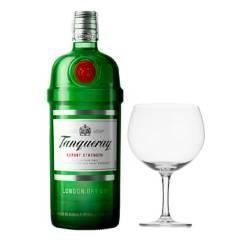 Tanqueray - Botella de Tanqueray Gin + Set x2 Copas GinTonic