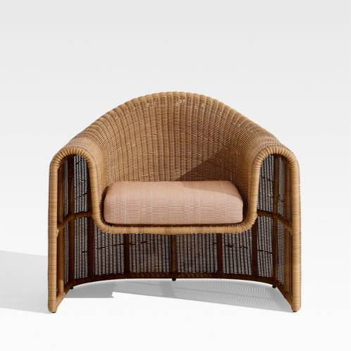 Crate & Barrel - Silla Simeon Wicker