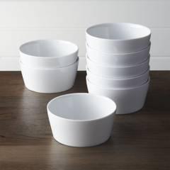 Crate & Barrel - Setx 8 Bowls Verge