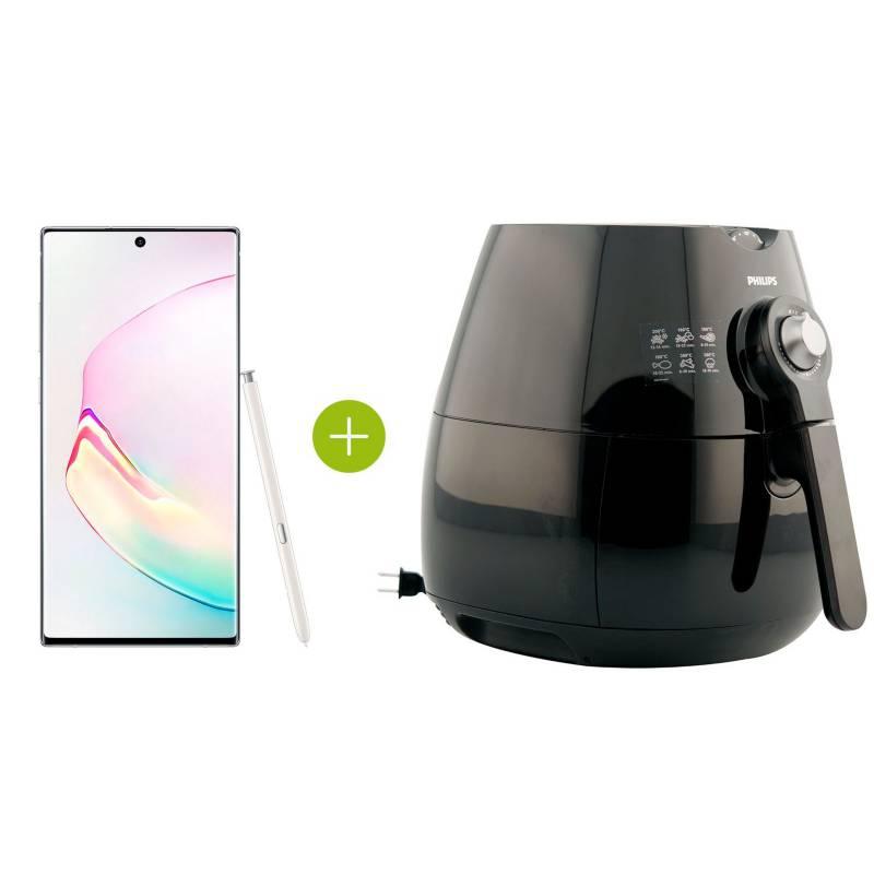 Samsung - Combo Note 10+ Blanco 256GB y Airfryer gratis