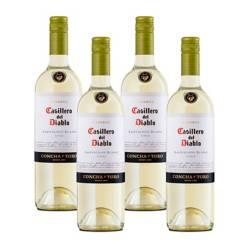 Casillero Del Diablo - 4 Botellas Vino Casillero Del Diablo Sauvignon Blanco 750