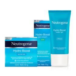 Neutrogena - Set Tratamiento Facial Rutina de Hidratación Hydroboost