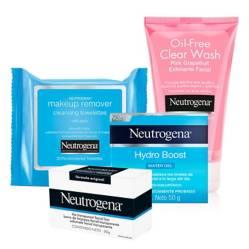 Neutrogena - Set Tratamiento Facial Rutina de Limpieza y Exfoliación