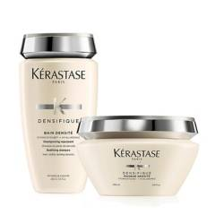 Kerastase - Kit Densidad: Shampoo Bain Densité 250 ml + Mascarilla Densifique 200 ml