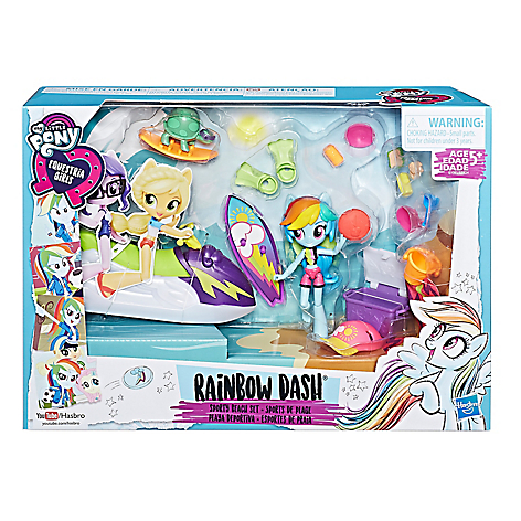 Playset My Little Pony Equestria Girls Mini Spring