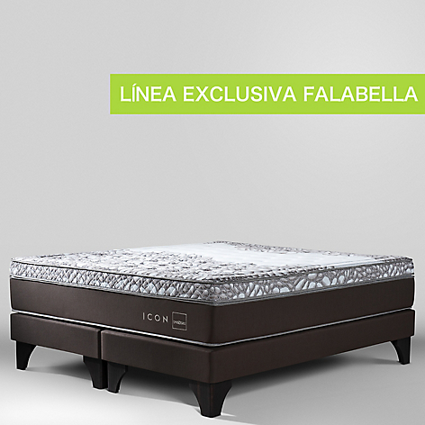 Cama Box Spring Icon King