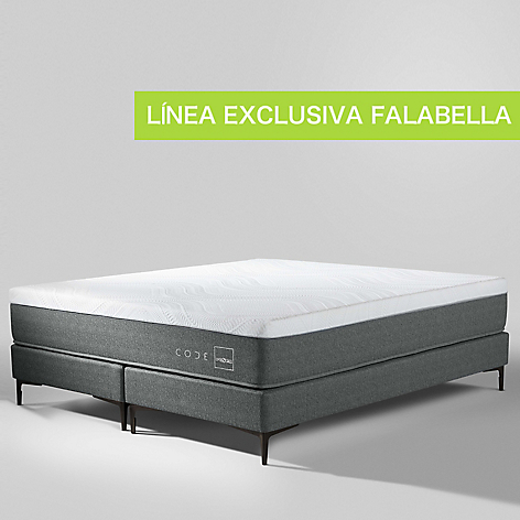 Cama Box Spring Code Queen