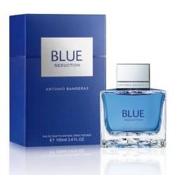ANTONIO BANDERAS - Perfume de Hombre Blue Seduction Men Eau de Toilette 100 ml