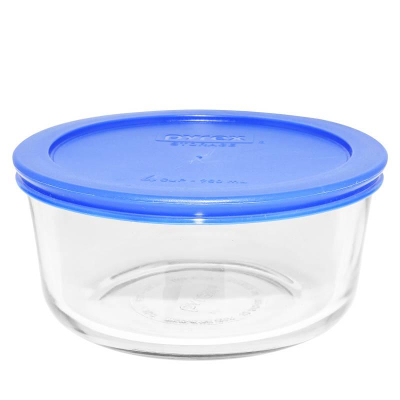 PYREX - Bowl redondo tapa plástica 4Tz