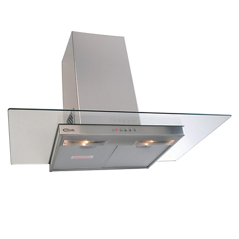 Campana extractora decorativa klimatic glass 1 - Campana extractora decorativa ...