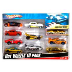 HOT WHEELS - Set de 10 Autos 10 Pack