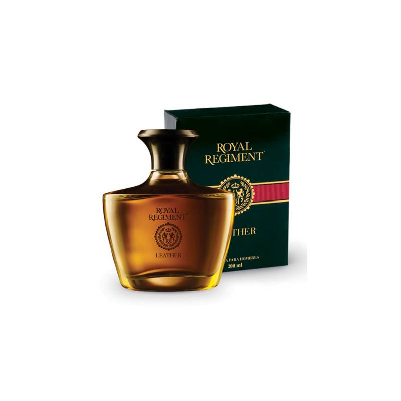 ROYAL REGIMENT - Fragancia Hombre Leather EDT 200 Ml