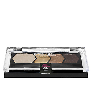 Cuarteto Sombras Eyestudio Color Plush Give Me Gold