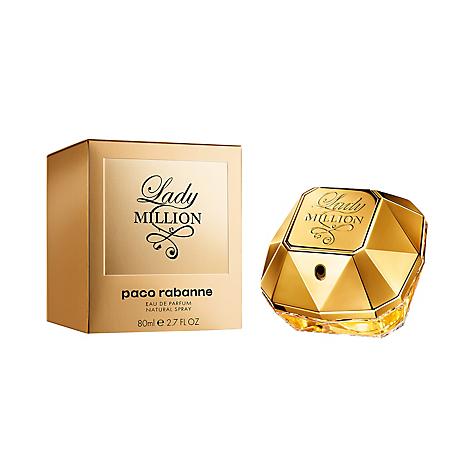 perfume paco rabanne 80 ml lady million. Black Bedroom Furniture Sets. Home Design Ideas