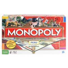 HASBRO GAMES - Monopoly Edición Perú
