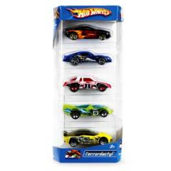 HOT WHEELS - Pack Coches x 5
