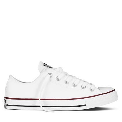 zapatillas converse cuero mujer blancas