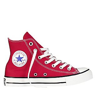 Zapatos rojos Converse All Star infantiles