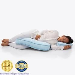 MATERNELLE - Doble Almohada de Lactancia Celeste