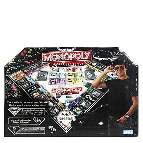 Monopoly Hasbro Millonario 98838 Falabella Com