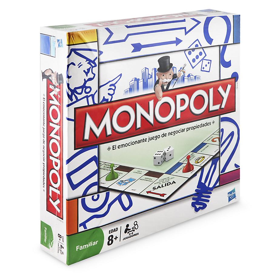ba001ac70d2cc Monopolio Modular Original De Hasbro NUEVO Juego De Mesa Dinero ...