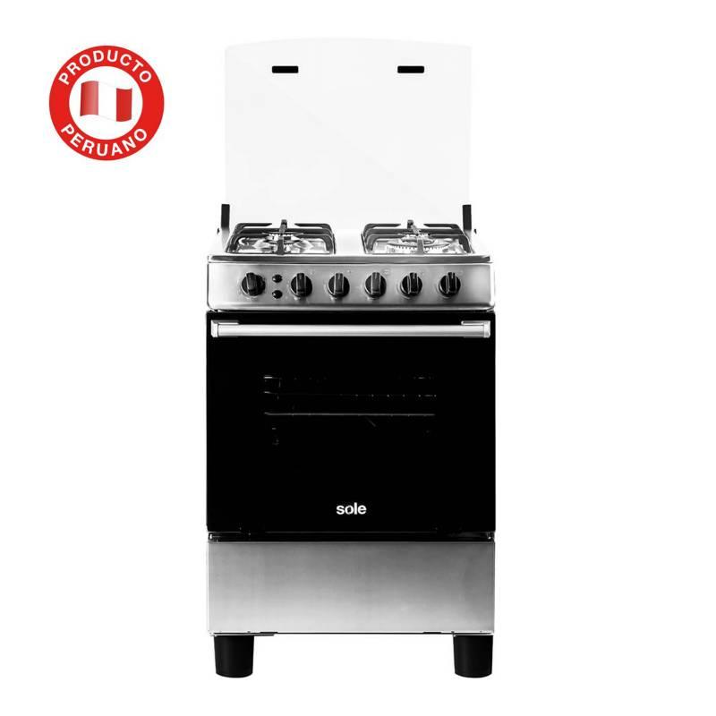 SOLE - Cocina a Gas COSOL027 4 quemadores