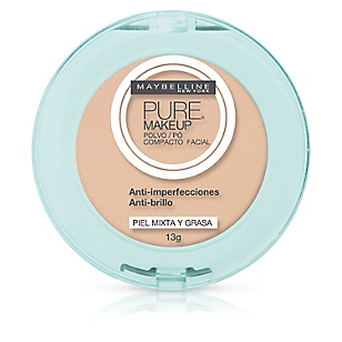 Polvo Compacto Facial Pure Make Up Dorado
