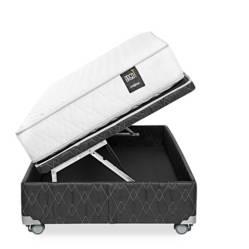 ROSEN - Cama Boxet Ergo T 1.5 Plz + 1 Almohada + 1 Protector