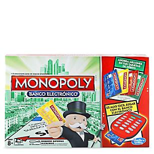 Juego Mesa Hasbro Monopoly Banco Electronico Falabella Com